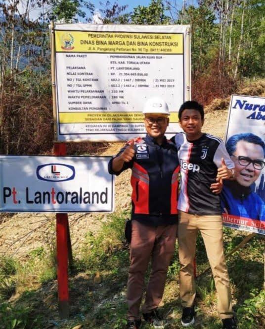 Direktur PT Lantoraland Andi Kemal Wahyudi. Ist